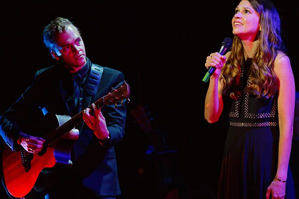 Sutton Foster (with Daniel Maher on guitar)