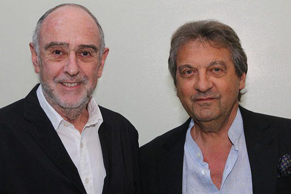Claude-Michel Schönberg and Alain Boublil (Manila)