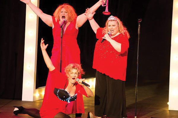 Melissa Langton, Virginia Gay, Lara Mulcahy